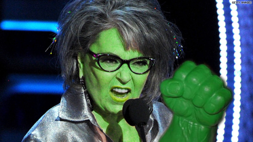 "man...who ever this guy is...hes friggin good...he really knocked this ""Rosanne as the Hulk"" out of the waterrrr...ok it was me....I lied....but you get the gist of it...."