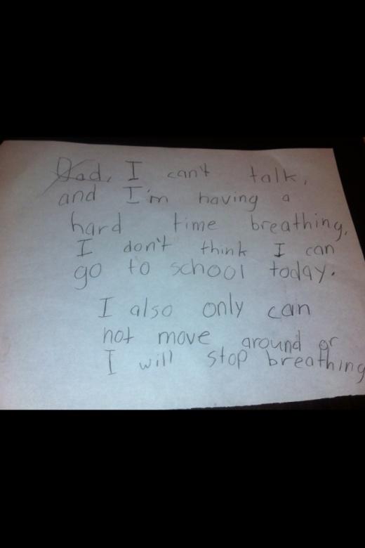 (foolproof.....no way that kids going to school)